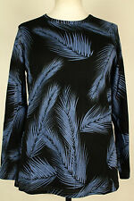 NEW WOMEN  TUNIC BLOUSE size 16/18 TOP  LONG SLEEVE  LADIES   b  2519