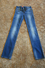 GSTAR Ford Straight WMN New Comfort Ponte Denim Medium Aged Size 24