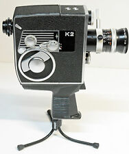 "CAMERA PAILLARD BOLEX - Type "" K2 ZOOM REFLEX AUTOMATIC""  - 8 mm - 1964"