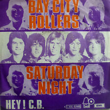 "7"" 1976 UK-PRESS BAY CITY ROLLERS Saturday Night /VG+?"