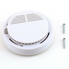 Fire Smoke Sensor Detector Alarm Tester Home Security System Cordless UL