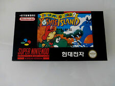 Super Mario World 2 Yoshi's Island Nintendo SNES Sealed New Korean Variant Rare!