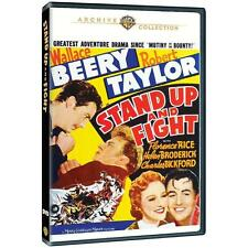 Stand Up and Fight,New DVD, Robert Taylor, Wallace Beery,