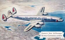 """Eastern Air Lines Super Constellation Airline issued """"Tried and Proven"""""""