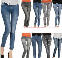 Lady Denim Jeans Sexy Skinny Legging Jeggings Stretch Pants Trousers Skinny Pant