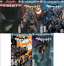 BATMAN REBIRTH #1 VARIANT & #1-17 + DAY SPECIAL (2016) DC/ KING/ SNYDER/ 1st 2nd