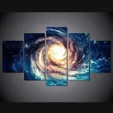 HD MODERN ABSTRACT HUGE WALL ART OIL PAINTING ON (NO Frame)Universe Galaxy Stars