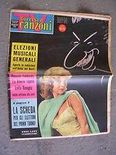 TV SORRISI e CANZONI # 51 - 18 DICEMBRE 1960 - ABBE LANE e CUGAT