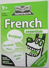 Children activity book learn French primary 9 10 year Key Stage 2 workbook guide