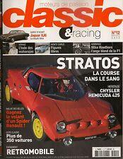 CLASSIC & RACING 12 LANCIA STRATOS CHRYSLER HEMICUDA 425 JAGUAR XJ6 YAMAHA 500XT