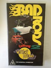 BAD RODS 2 ~ GOOD GUYS 2 ~ WEST COAST NATIONALS ~ RARE VHS VIDEO