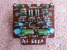 SANSUI AU-555A STEREO INTERGRATED AMPLIFIER REPLACEMENT PHONO BOARD REBUILT