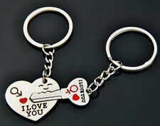 KEYRING Love For Him Her key ring keychain love couple gift present i love you