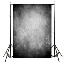 5x7ft Vintage Grey Black Abstract Backdrop Studio Photography Photo Background