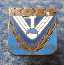 POLAND district KRAKOW TENNIS FEDERATION 50 ANNIVERSARY /1928-1978 / PIN BADGE