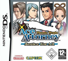 Phoenix wright: ace attorney justice for all (Nintendo DS, 2007) - european...