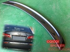Carbon Fiber 05-12 LEXUS IS250 IS350 Sedan F sport type trunk spoiler ※