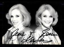 Alice und Ellen Kessler Autogrammkarte Original Signiert # BC 86409