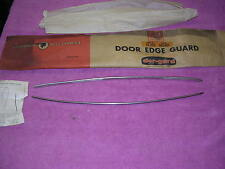 Pontiac NOS 1963 LeMans Tempest 63 door edge guards 2 door sedan convertible