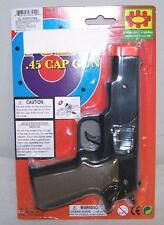 12 CAP GUN 45 PLASTIC SHOOTER play toy guns boy TOYS new play pistol NOISE NEW