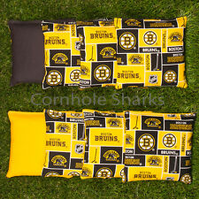 Cornhole Bean Bags Set of 8 ACA Regulation Bags Boston Bruins Free Ship!!