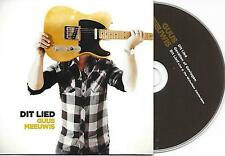 GUUS MEEUWIS - Dit lied CD SINGLE 3TR CARDSLEEVE 2011 HOLLAND