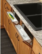 Rev A Shelf Kitchen Organizer Storage 1 Tier Plastic Pull Out Cabinet Basket