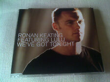 RONAN KEATING / LULU - WE'VE GOT TONIGHT - UK CD SINGLE