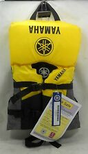 YAMAHA MAY-08V3B-YE-IN YELLOW INFANT NYLON PFD 3-BUCKLE LIFE VEST JACKET *NEW