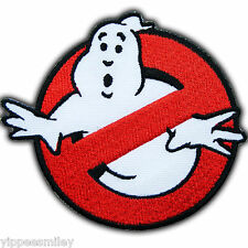 Ghostbuster Ghost Logo Movie Cartoon Kids Children Sew Iron On Patches Cap #0134