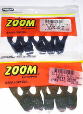 Zoom Super Chunk Jig Trailers (Lot of 2-Black Blue/Castaic Choice-5/pack)