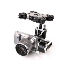 MOY 3 Axis Brushless Gimbal w/Motors&32Bit Control Board for Micro DSLR NEX5/6/7