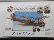 AIRFIX   FIRST   WORLD   WAR   AIRCRAFT   RAF   RE8,   1.72   SCALE