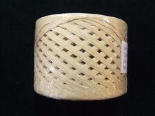 Natural Tan Paper Craft Ribbon RAFFIA WRAPHIA 100  YD Roll Heavy Duty Craft Art