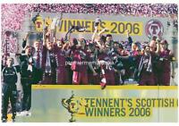 HEART OF MIDLOTHIAN FC HEARTS FC 2006 SCOTTISH CUP FINAL WINNERS EXCLUSIVE PRINT