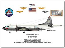 P-3C Orion of the VP-45 Pelicans, US Navy Patrol Aircraft profile data print