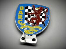 BARC Badge Grill Plakette Racing Jaguar Mini Cooper MG Triumph Lotus TRV Morgan