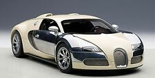 1:18 AUTOart BUGATTI EB VEYRON 16.4 WHITE HERMANN TO LAMBAGRAON+