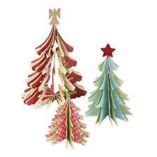 Sizzix Bigz  Die CHRISTMAS TREES 3-D 658754 BIGkick/Big Shot/Vagabond