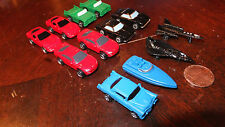 NEW x12 MICRO MACHINES GALOOB ASSTD CARS BOAT MILITARY JETS NEW