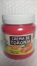 GRAPEFRUIT CREAM 9 OZ CREMA DE TORONJA REDUCTORA 01/2018 MADE IN MEXICO