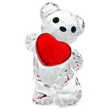 SWAROVSKI #958449 KRIS BEAR A HEART FOR YOU BRAND NIB RED LOVE FREE SHIPPING