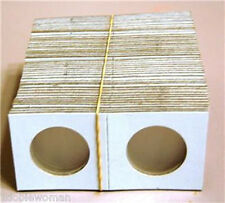 50 2x2  Cardboard Coin Holder, Mix or Match