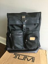 TUMI Alpha 2 Bravo Hickory Luke Roll-Top Backpack Travel Carry-On Luggage 222388