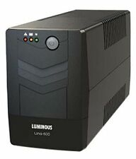 LUMINOUS UNO 600VA UPS for Desktop with Bill + 2 Years Warranty