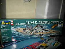 1:570 Revell Battleship HMS Prince of Wales Nr.05102 OVP
