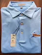 Peter Millar Finish Line Youth Foundation E4 Per4mance Element Polo Shirt Size M