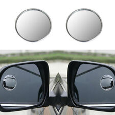 2x Car Truck Blind Spot Rear View Mirrors Wide Angle Round Convex Mirror