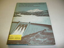 The Sacramento River by Oscar Lewis stated First Edition Holt Library Edition HB