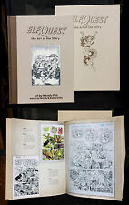 "ELFQUEST ""ART of the STORY"" HC/case Wendy Pini art - limited ed! SIGNED twice!"